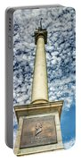Up The Lovejoy Monument  Portable Battery Charger