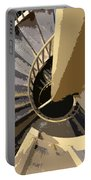 Up The Spiral Staircase Portable Battery Charger