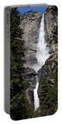 Upper And Lower Yosemite Falls Portable Battery Charger