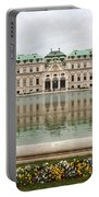 Upper Belvedere And Its Reflection  Portable Battery Charger