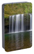 Upper Butte Creek Falls In Fall Season Portable Battery Charger
