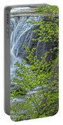 Upper Falls At Mine Kill State Park Portable Battery Charger