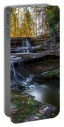 Upper Falls Cascades Portable Battery Charger
