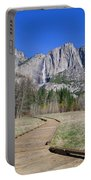 Upper Yosemite Fall And The Trail Portable Battery Charger