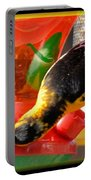 Upside Down Oriole Portable Battery Charger