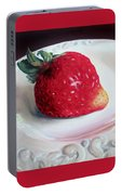Uptown Strawberry Girl Portable Battery Charger