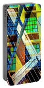 Urban Abstract 123 Portable Battery Charger