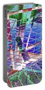 Urban Abstract 411 Portable Battery Charger