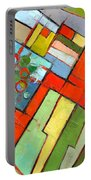 Urban Composition - Abstract Zoning Plan Portable Battery Charger