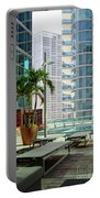 Urban Landscape, Miami, Florida Portable Battery Charger