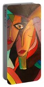 Urban Painting Portable Battery Charger