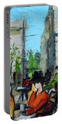 Urban Story - Champs Elysees Portable Battery Charger