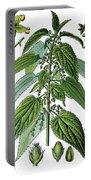 Urtica Dioica, Often Called Common Nettle Or Stinging Nettle Portable Battery Charger