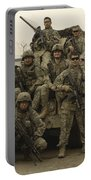 U.s. Army Soldiers Pose For A Photo Portable Battery Charger