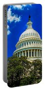 Us Capitol Dome Portable Battery Charger