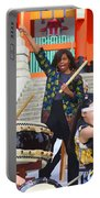U.s. First Lady Michelle Obama  Plays The Taiko Drum  Portable Battery Charger