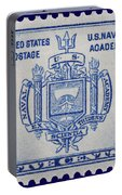 Us Naval Academy Postage Stamp Portable Battery Charger