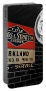 Us Route 66 Briggs And Stratton Signage Sc Portable Battery Charger