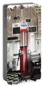 Us Route 66 Smaterjax Dwight Il Gas Pump 01 Pa 01 Portable Battery Charger