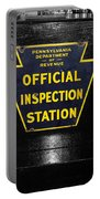 Us Route 66 Smaterjax Dwight Il Official Inspection Signage Portable Battery Charger