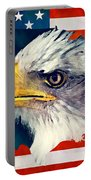 Usa Flag Eagle Portable Battery Charger