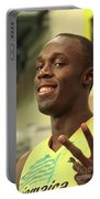 Usain Bolt  Portable Battery Charger