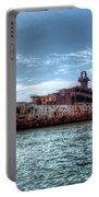 Usns American Mariner - Target Ship, Chesapeake Bay, Maryland Portable Battery Charger