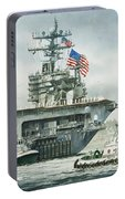 Uss Carl Vinson Portable Battery Charger