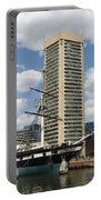 Uss Constellation - Baltimore Inner Harbor Portable Battery Charger