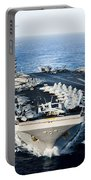 Uss John C. Stennis Transits Portable Battery Charger