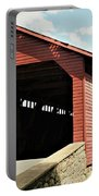 Utica Mills Covered Bridge Portable Battery Charger