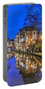 Utrecht From The Bridge By Night Portable Battery Charger