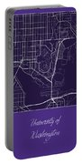 Uw Street Map - University Of Washington Seattle Map Portable Battery Charger