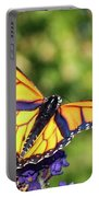 V Shaped Monarch  Portable Battery Charger