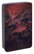 Vader Vs Aliens 1 Portable Battery Charger