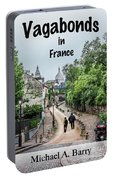 Vagabonds In France Book Cover Portable Battery Charger