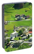 Val Poschiavo From The Bernina Express Switzerland Portable Battery Charger