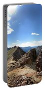 Valecito And Chicago Basins From Mt Jupiter - Weminuche Wilderness - Colorado Portable Battery Charger