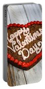 Valentines Cookie  Portable Battery Charger
