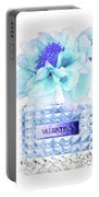 Valentino Blue Perfume Portable Battery Charger