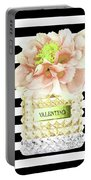 Valentino Perfume With Flower Portable Battery Charger