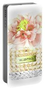 Valentino With Peony Portable Battery Charger
