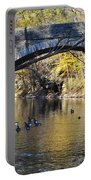 Valley Green Bridge Portable Battery Charger by Bill Cannon