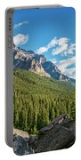 Valley Near Moraine Lake Banff Portable Battery Charger