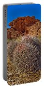 Valley Of Fire Barrels Portable Battery Charger