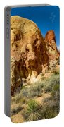 Valley Of Fire - Face In The Rock Portable Battery Charger