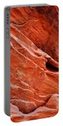 Valley Of Fire Mouse's Tank Sandstone Wall Portrait Portable Battery Charger