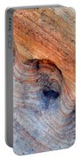 Valley Of Fire Rainbow Sandstone Portable Battery Charger