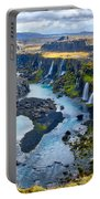 Valley Of Tears #2 - Iceland Portable Battery Charger