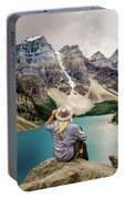 Valley Of The Ten Peaks Portable Battery Charger